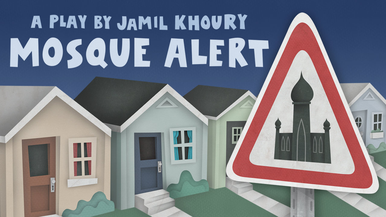 Mosque Alert by Jamil Khoury